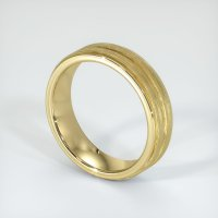 14K Yellow Gold Plain Band - JB105Y14