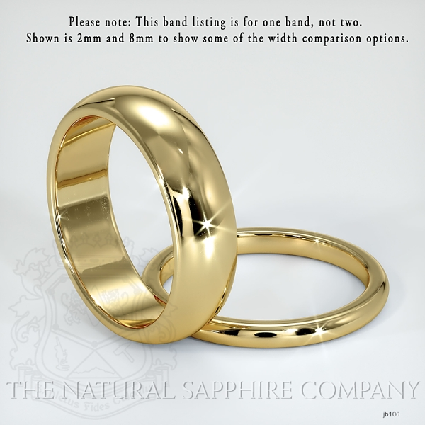 Plain wedding band JB106 Image