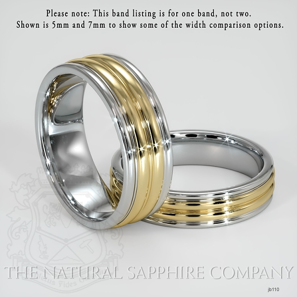 Basic Carved Wedding band JB110 Image