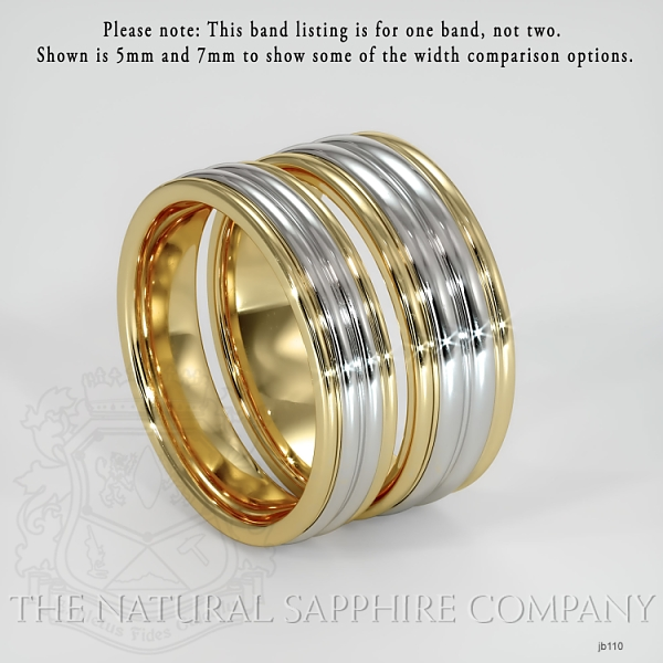 Basic Carved Wedding band JB110 Image 3