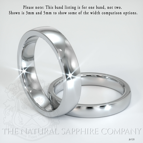 Plain wedding band JB120 Image