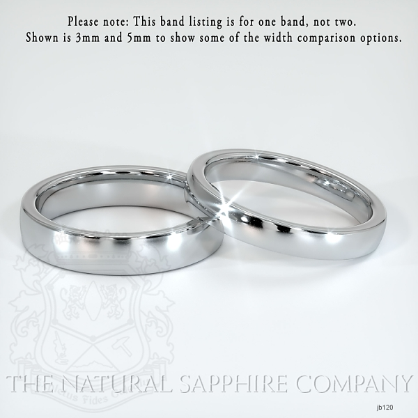Plain wedding band JB120 Image 2