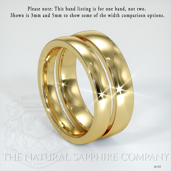 Plain wedding band JB120 Image 3