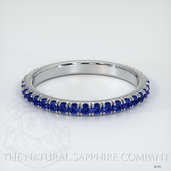 Eternity Blue Sapphire Wedding Band JB155 Image
