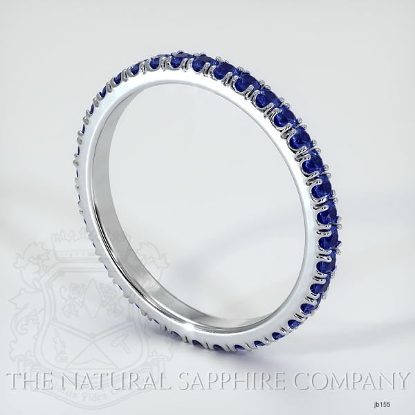 Eternity Blue Sapphire Wedding Band JB155 Image 2