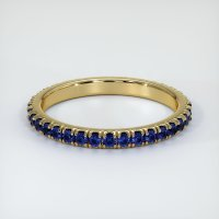 14K Yellow Gold Gemstone Band - JB155Y14