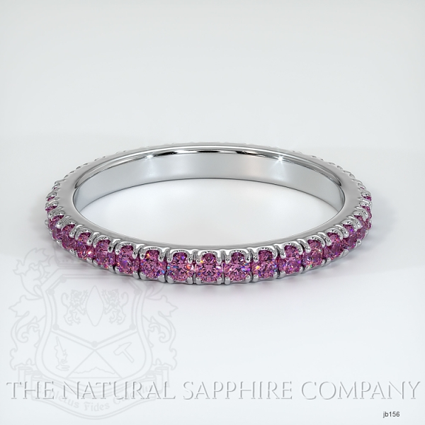 Eternity Pink Sapphire Wedding Band JB156 Image