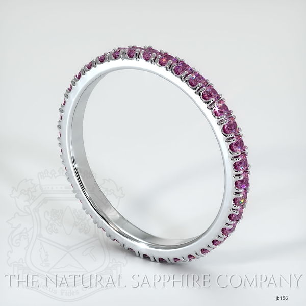 Eternity Pink Sapphire Wedding Band JB156 Image 2