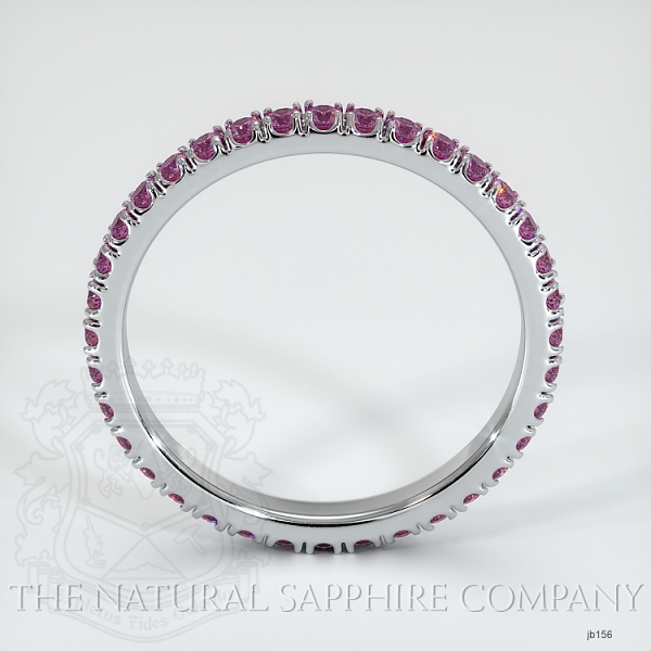 Eternity Pink Sapphire Wedding Band JB156 Image 3