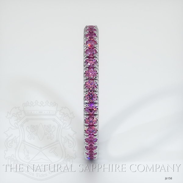 Eternity Pink Sapphire Wedding Band JB156 Image 4