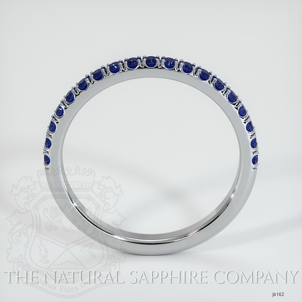 Half Way Blue Sapphire Wedding Band JB162 Image 3