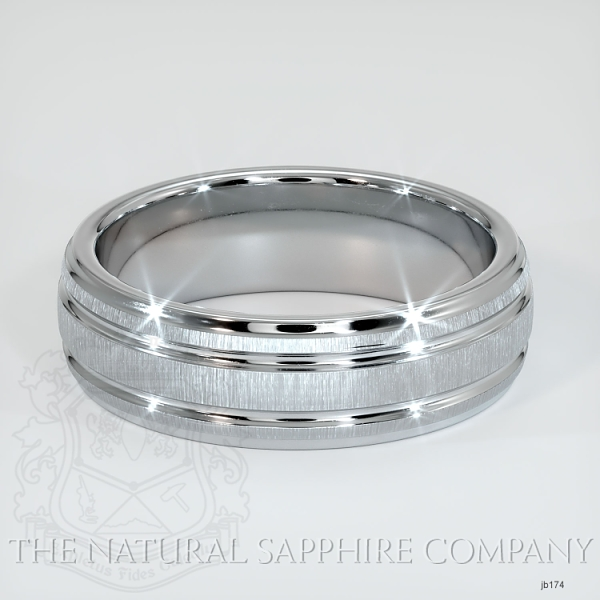Basic Carved Wedding band JB174 Image 2