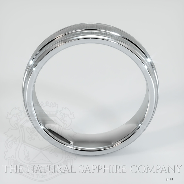 Basic Carved Wedding band JB174 Image 3