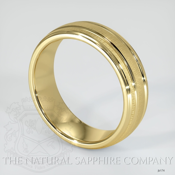Basic Carved Wedding band JB174 Image