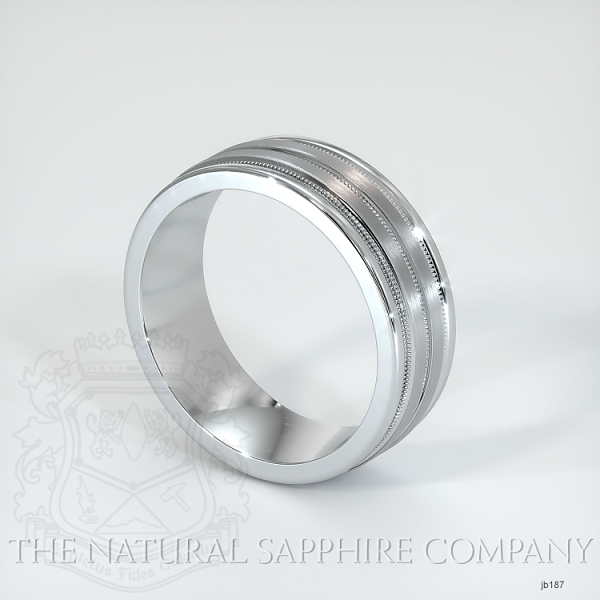 Basic Carved Wedding band JB187 Image