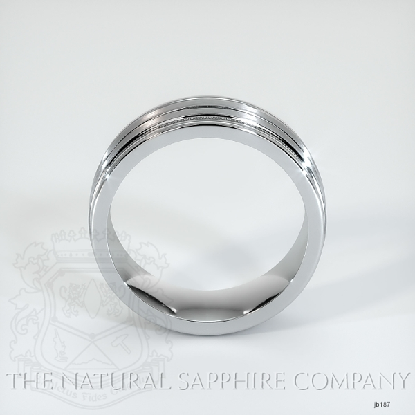 Basic Carved Wedding band JB187 Image 3