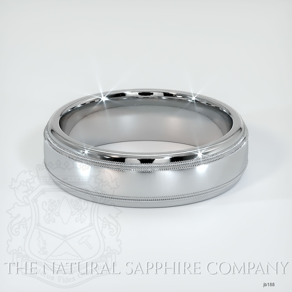 Basic Carved Wedding band JB188 Image 2