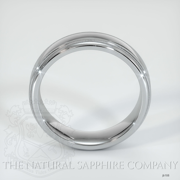 Basic Carved Wedding band JB188 Image 3