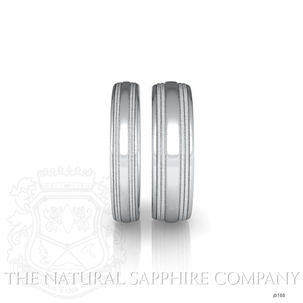 Basic Carved Wedding band JB188 Image 4