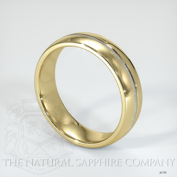 Basic Carved Wedding band JB190 Image