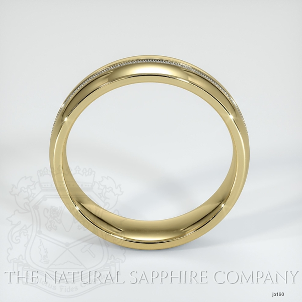 Basic Carved Wedding band JB190 Image 3