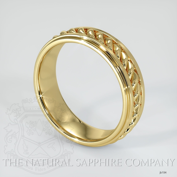 Hand made hand woven wedding band JB194 Image