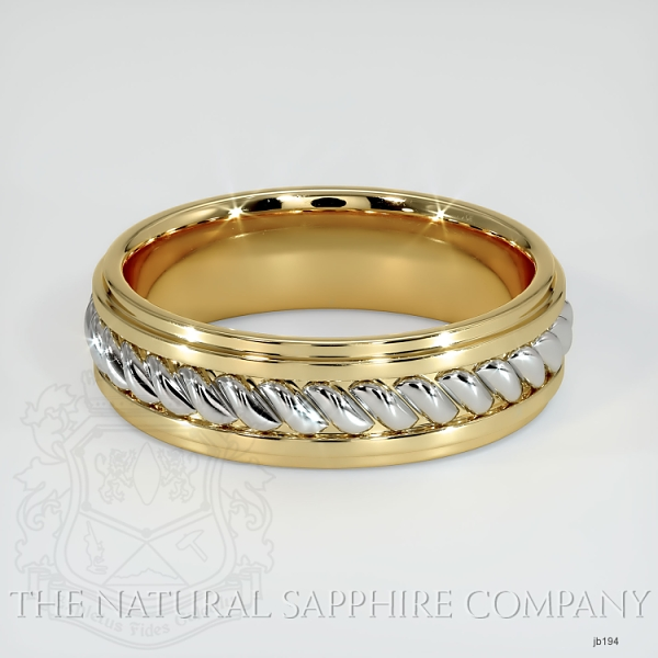 Hand made hand woven wedding band JB194 Image 2
