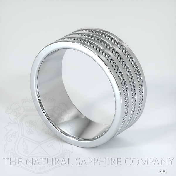 Hand made hand woven wedding band JB196 Image