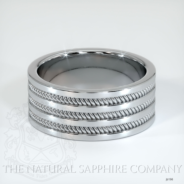 Hand made hand woven wedding band JB196 Image 2