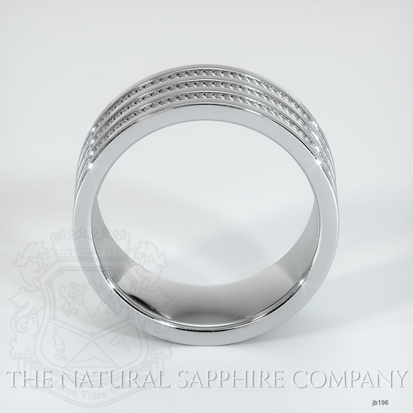 Hand made hand woven wedding band JB196 Image 3