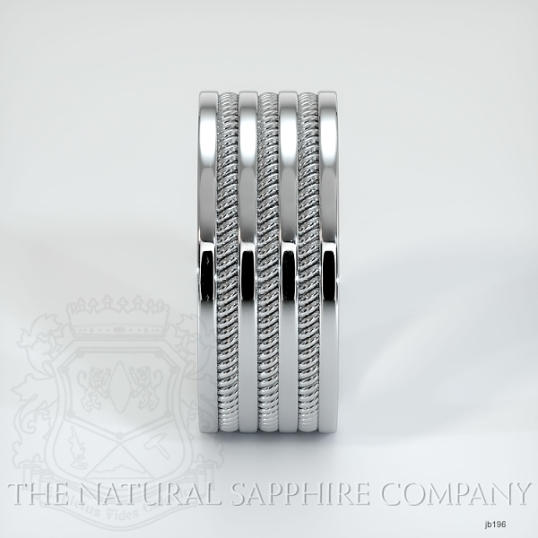 Hand made hand woven wedding band JB196 Image 4