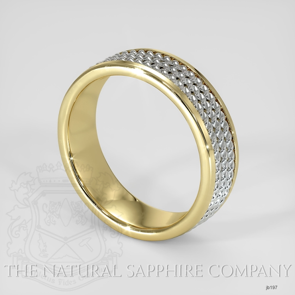 Hand made hand woven wedding band JB197 Image