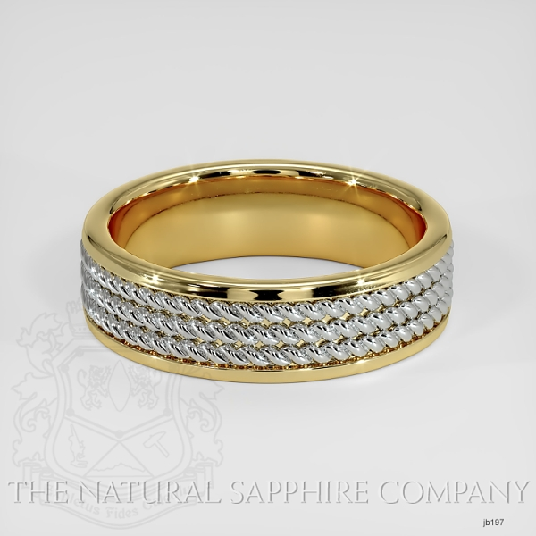 Hand made hand woven wedding band JB197 Image 2