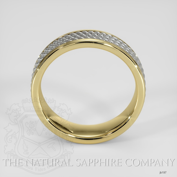 Hand made hand woven wedding band JB197 Image 3