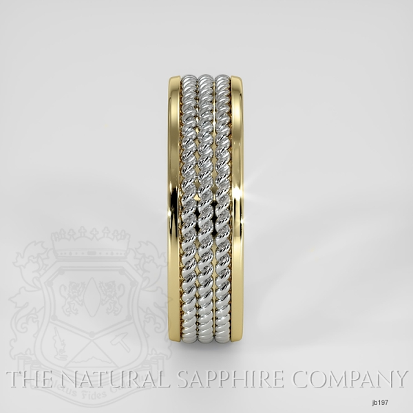 Hand made hand woven wedding band JB197 Image 4