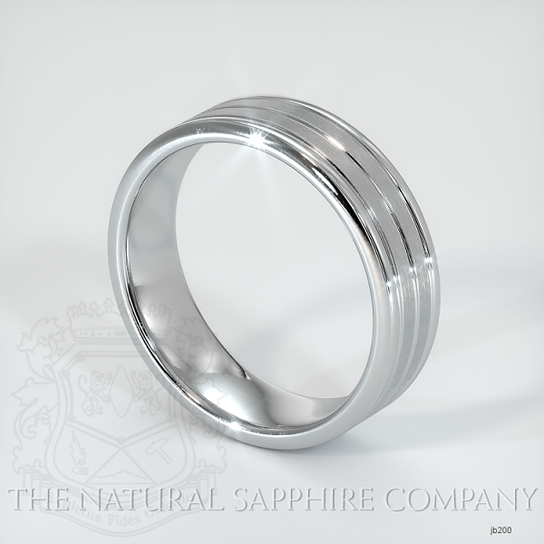 Basic Carved Wedding band JB200 Image