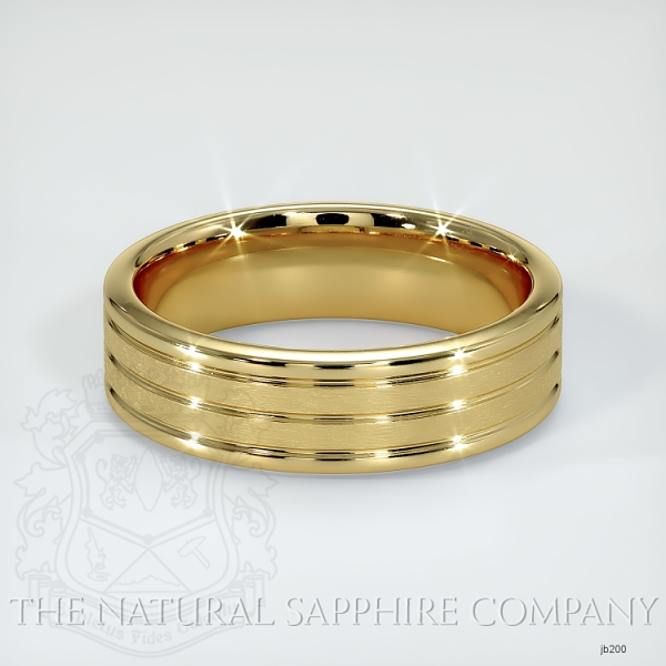 Basic Carved Wedding band JB200 Image 2