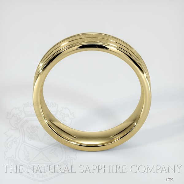 Basic Carved Wedding band JB200 Image 3