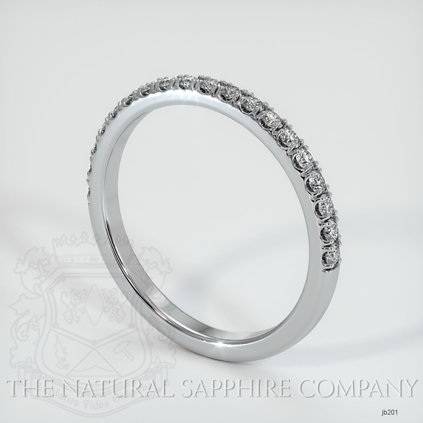 Half Way Diamond Wedding Band JB201 Image 2