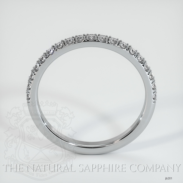 Half Way Diamond Wedding Band JB201 Image 3
