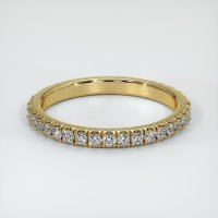 18K Yellow Gold Gemstone Band - JB202Y18