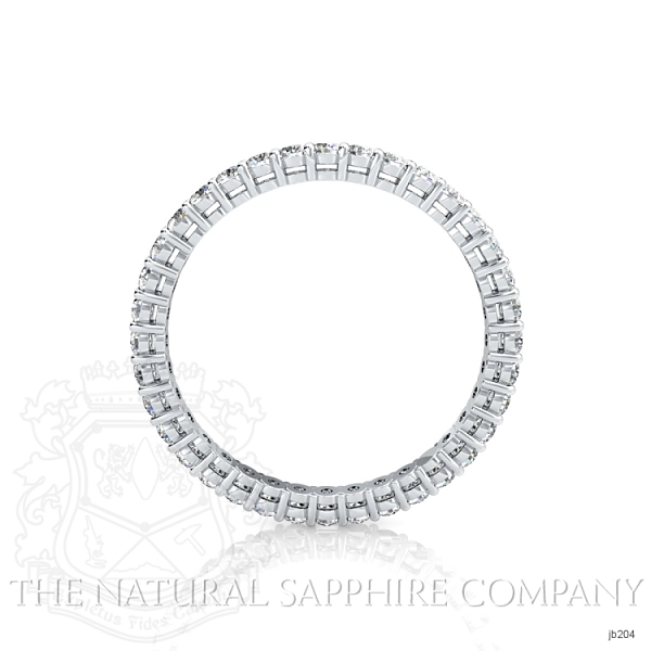 Prong Set Eternity Diamond Wedding Band JB204 Image 3