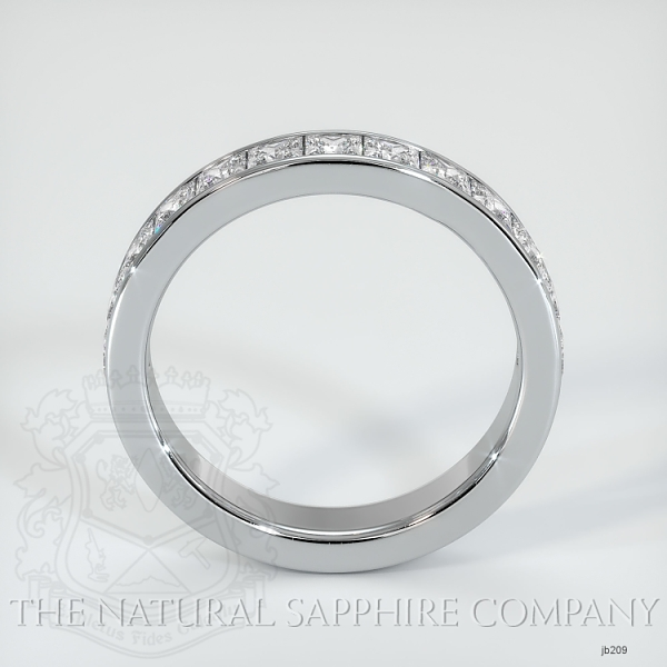 Princess Cut Channel Set Diamond Wedding Band JB209 Image 3