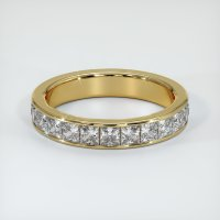 18K Yellow Gold Gemstone Band - JB209Y18