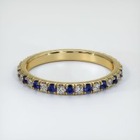 14K Yellow Gold Gemstone Band - JB219Y14