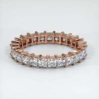 14K Rose Gold Gemstone Band - JB221R14
