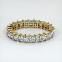 18K Yellow Gold Gemstone Band - JB221Y18