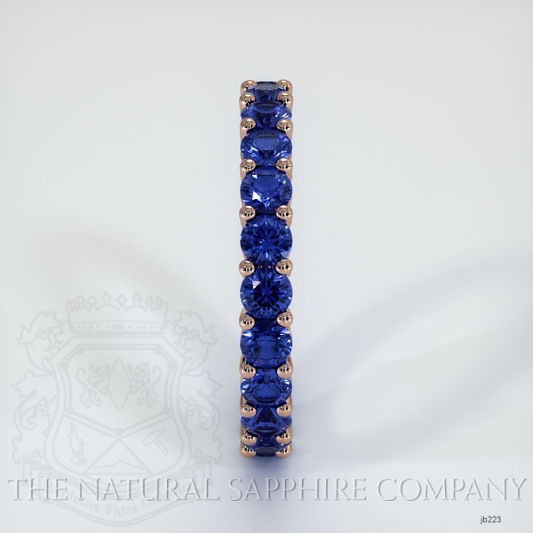 Prong Set Blue Sapphire Eternity Wedding Band JB223 Image 4