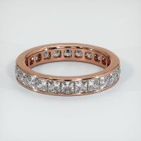 14K Rose Gold Gemstone Band - JB225R14