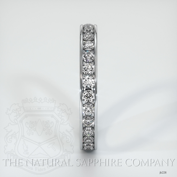 Channel Set Diamond Eternity Wedding Band JB226 Image 4